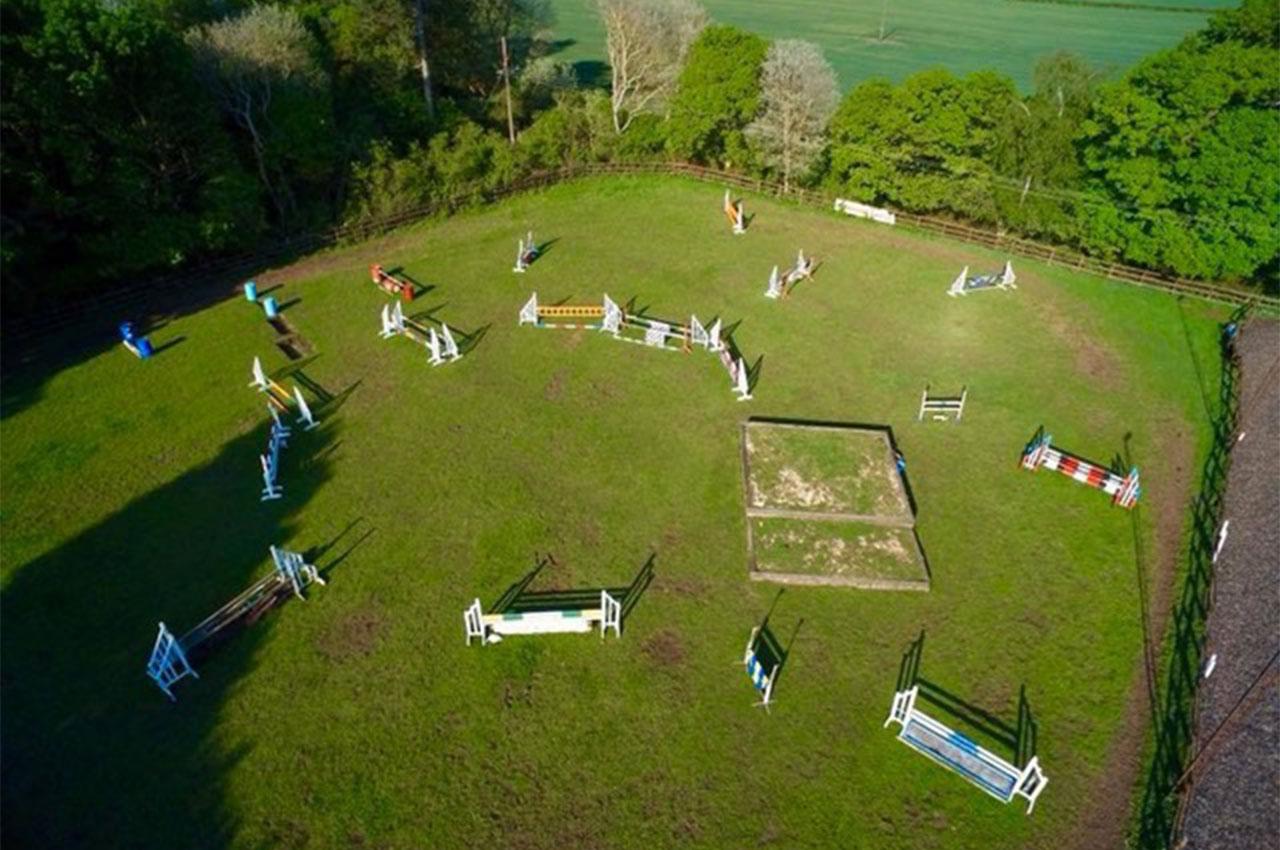 Grass Show Jumping Paddock Nottinghamshire