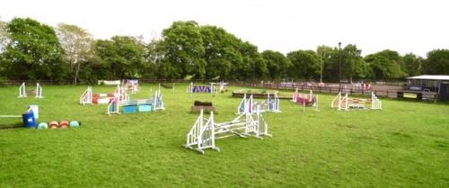 Grass Show Jump Paddock